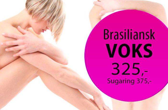 brasiliansk voks 325,-